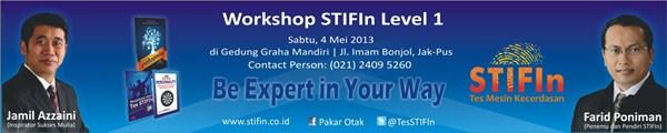 Workshop STIFIn, Jakarta 4 Mei 2013