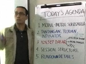 Indrawan Nugroho, direktur Utama Kubik Training