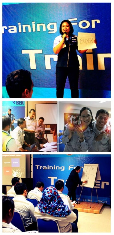 Sesi Training For Trainer di Trubaindo Coal Mining, Melak Kalimantan