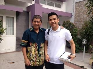 Bersama Fuza: Muda, milyarder, calon pebisnis kelas dunia.
