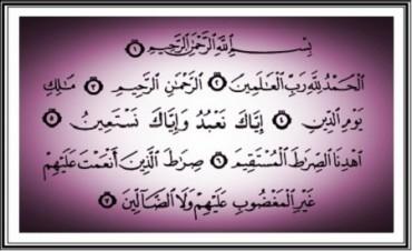 Betulkan Al Fatihahmu