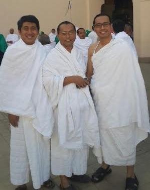 DI Tanah SUci, bersama mas Farid dan mas Indra dari Kubik.