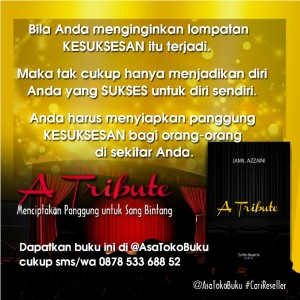 Jual Buku A TRIBUTE 0878 533 688 52