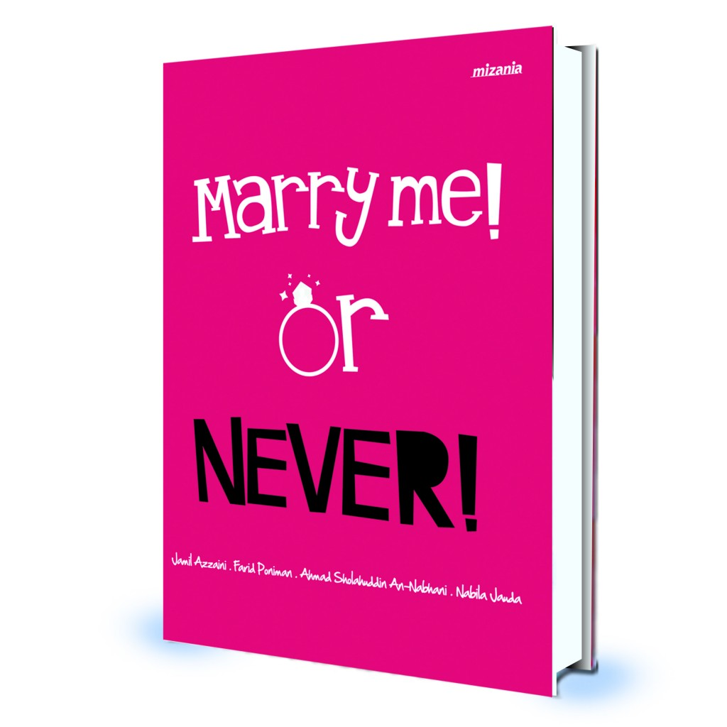 Hard Cover Marry Me Or Never