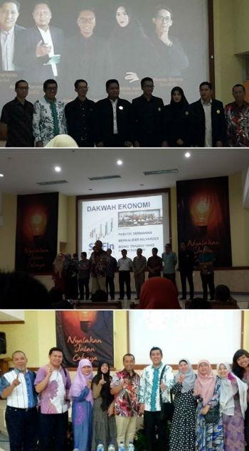 Wisuda lulusan Worskhop STIFIn Level 3 sekaligus deklarasi Asosiasi Solver Indonesia di Jakarta, kemarin.