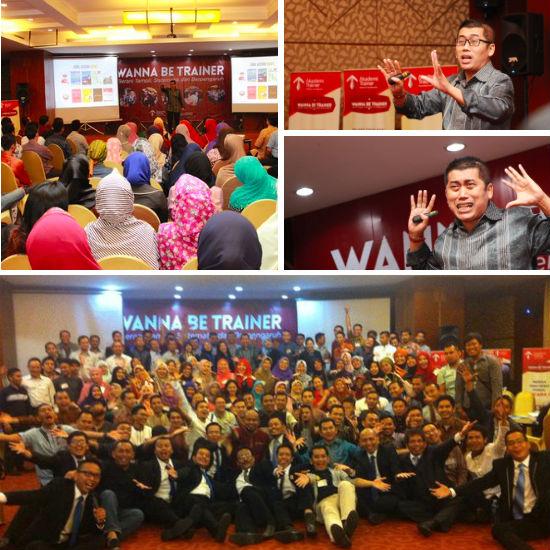 Kemeriahan acara WBT 18 di Jakarta, 20-22 November 2015.