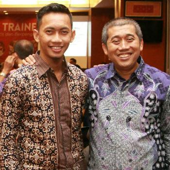 Agung Tri Budi Setianto, bersama saya di Acara Wanna Be Trainer.