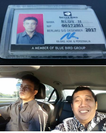 Rudy, bukan driver biasa...