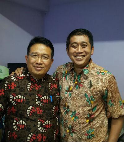 Bersama Kang Yoto, Bupati Brojonegoro.